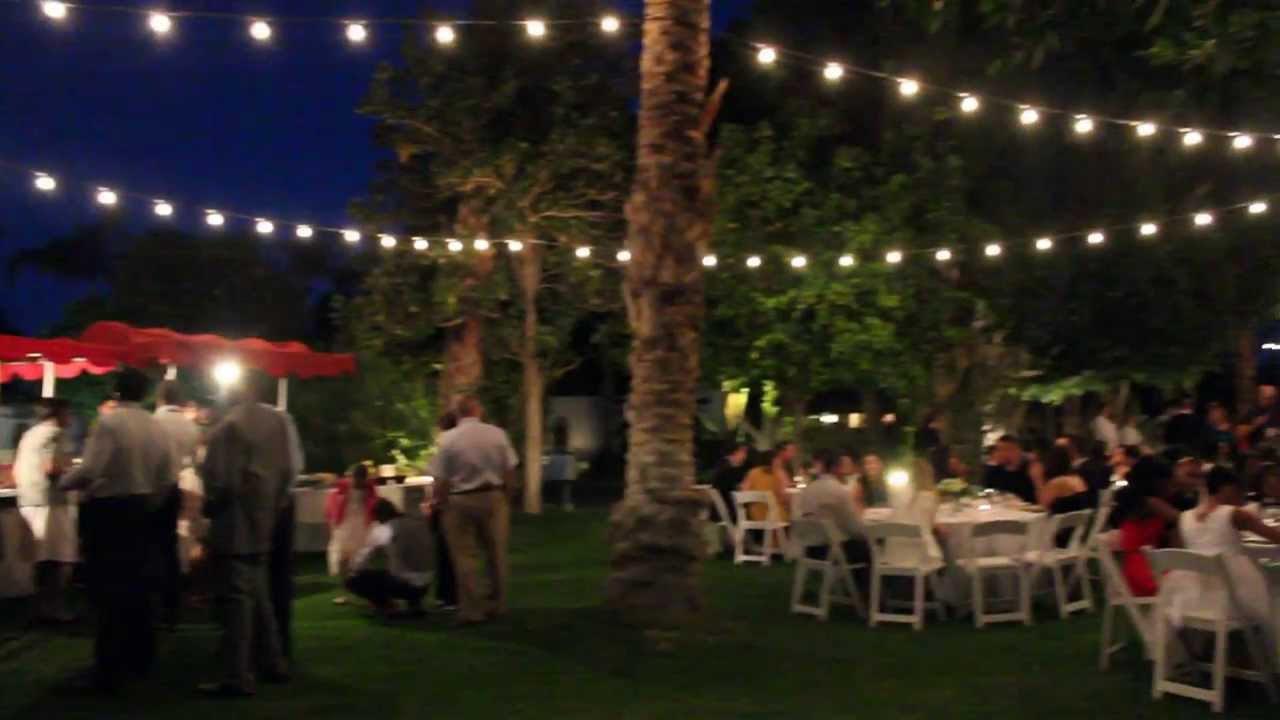 Gourmet Taco Cart Catering At The Historic Cree Estate In