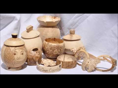 Kids Entertainment use in coconut shell and husk