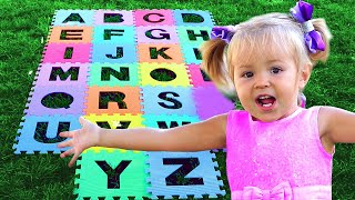 ABC Song - Learn English Alphabet for Children with Luba