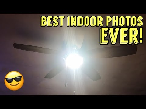 Keep The Ceiling Fan! Upgrade The Light! ... 225 Watt LED