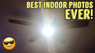 Keep The Ceiling Fan! Upgrade The Light! ... 225 Watt LED