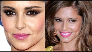 Cheryl Cole (Fernandez Versini) Signature Smokey Eye / Pink Lips Makeup Tutorial.