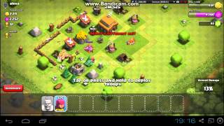 CLASH OF CLANS-The strike to silver!!!!!! DAY 1