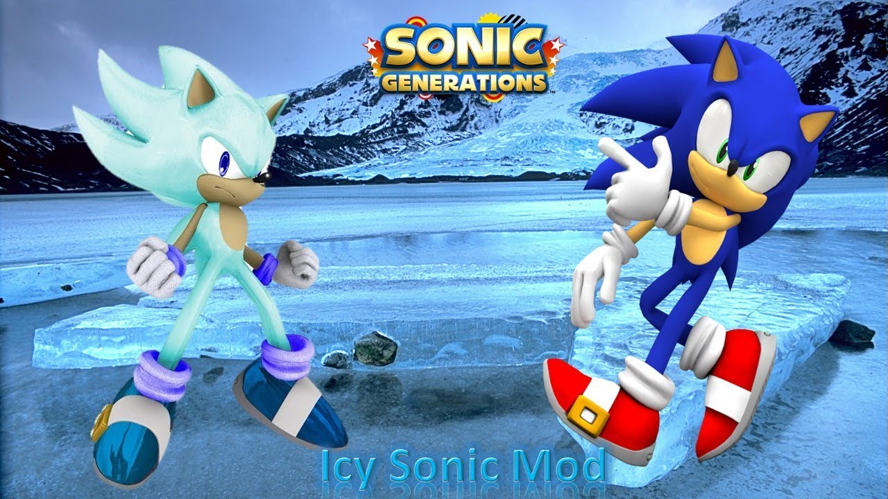 ae986066a7dc Sonic Generations Mod Part 158  Icy Sonic Mod - YouTube