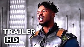 "BLACK PANTHER ""Angry Killmonger"" Clip (2018) Superhero Marvel Movie HD"