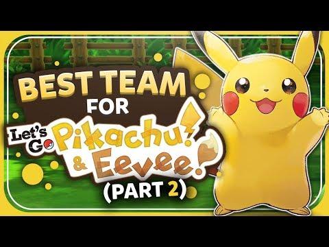 Best Team For Let's Go Pikachu/Eevee: Pikachu Edition