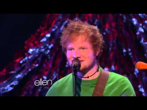 Ed Sheeran Performs Grade 8 at the Ellen Show