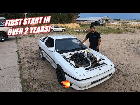 LS Swapped Supra Is ALIVE!