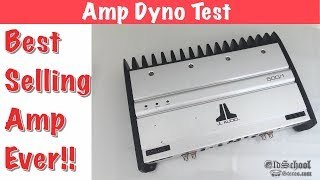 Best Selling Car Audio Amp Ever? JL Audio 500/1 Amp Dyno Test