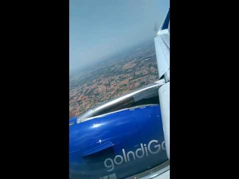 Indigo banglore to Bombay flight take off