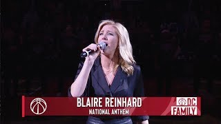 National Anthem performed by Blaire Reinhard for The NBA