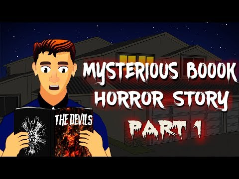 Mysterious Book Horror Story | Animated Horror Stories