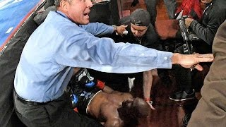 Bernard Hopkins KNOCKED OUT of RING in TKO LOSS vs Joe Smith