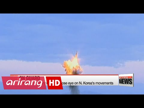 N. Korea appears to have fired submarine-launched missile: Seoul's Defense Ministry