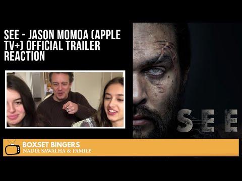 SEE - Jason Momoa (Apple TV+) Official Trailer - The Boxset Bingers FAMILY Reaction