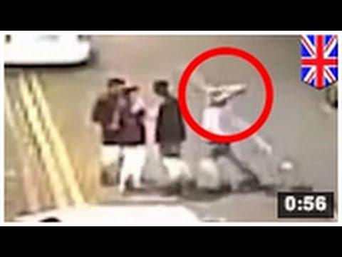 VIDEO: Un homme se fait agresser à la dalle de bétonde YouTube · Durée:  44 secondes