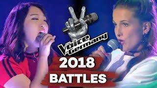 Gwen Stefani - What You Waiting For? (Kinga Balla vs. Eun Chae Rhee) | The Voice of Germany | Battle