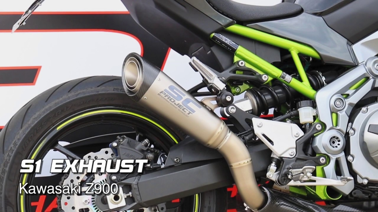 SC-Project S1 Exhaust for Kawasaki Z900