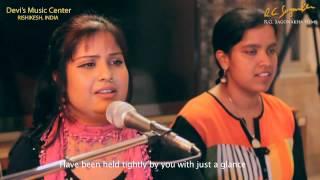 Devi Music Ashram (Rishikesh India) - chhap tilak - singer Devi & Neeti
