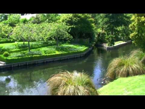 இڿڰۣ-ڰۣ MONA VALE GARDENS & The Avon River Christchurch ~ Music by Shirley Cason