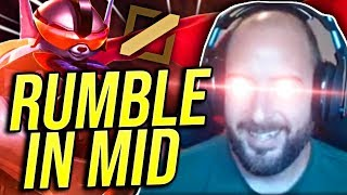 RUMBLE IS 100% UNBEATABLE IN MID LANE?! S9 RUMBLE GAMEPLAY! - Road To Challenger | League of Legends