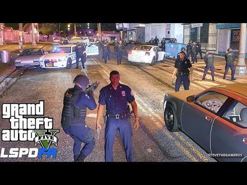 LSPDFR #556 - NYPD CITY PATROL (GTA 5 REAL LIFE POLICE PC MOD)