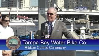 Tampa Bay Water Bike Ribbon Cutting