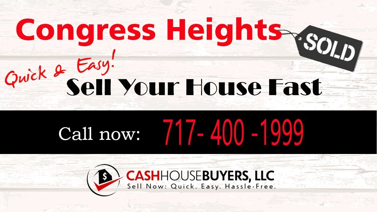 HOW IT WORKS We Buy Houses  Congress Heights Washington DC   CALL 717 400 1999   Sell Your House