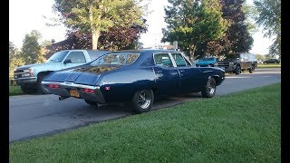 CAMMED Big Block Buick With Flowmaster's (Sound)