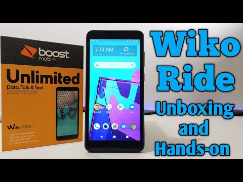 Wiko Ride Unboxing and Hands-on