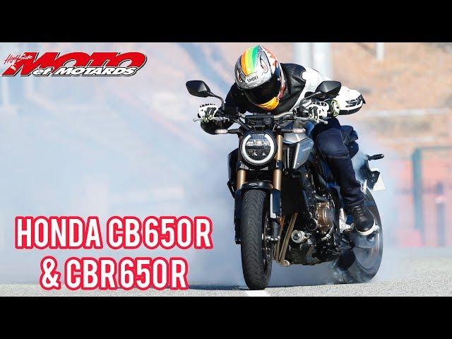 Moto et Motards balance son test : Honda CB 650 R et CBR 650 R