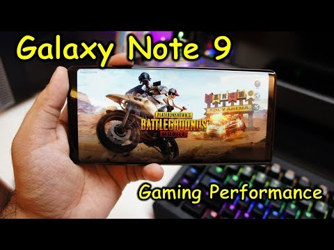 Galaxy Note 9 - Gaming performance in Fortnite, PUBG, NFS, Asphalt 9 and recording gameplay