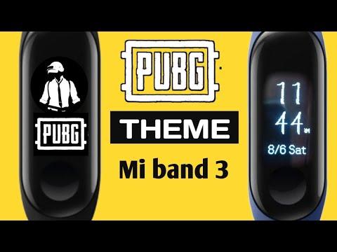 PUBG MI BAND 3   THEME custom Resource   New clock faces