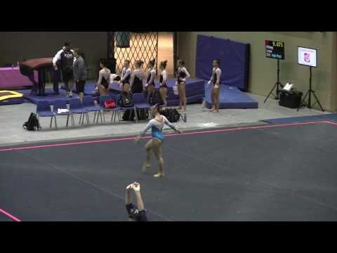 Alison Grass - Class of 2018 - Courtney Kupets Pink Invitational Beam and Floor