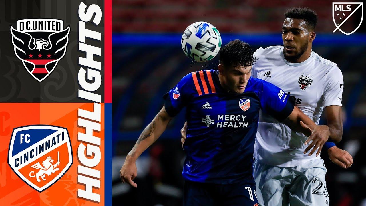 FC Cincinnati vs DC United   October 18, 2020   MLS Highlights
