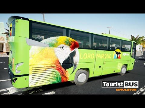 Tourist Bus Simulator - VDL Futura FHD2 106 - ligne 07 - Antigua/ Cueva de Lava. |