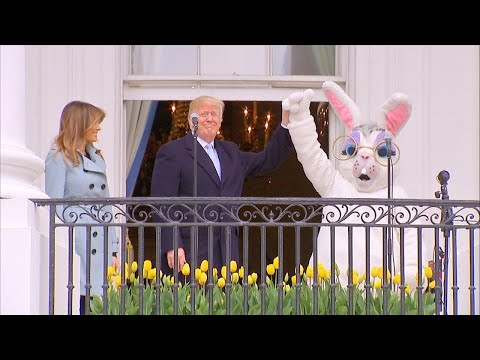 Man Dressed as White House Easter Bunny Revealed