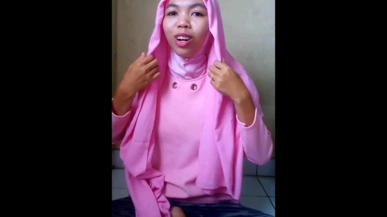 Tutorial Hijab Simple By ANANDA FAUZITA YouTube