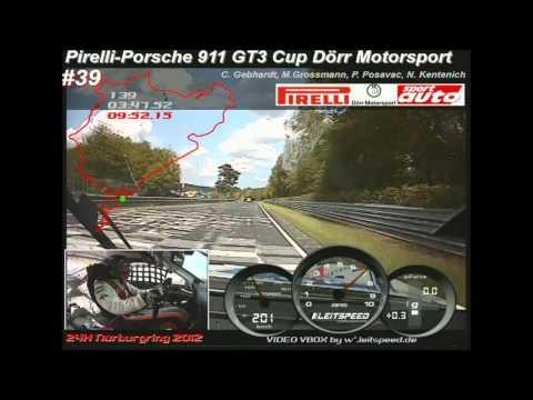 GT3 Cup vs Z4 24h Battle Nürburging 2012 Onboard Lap Porsche 911 Dörr Motorsport