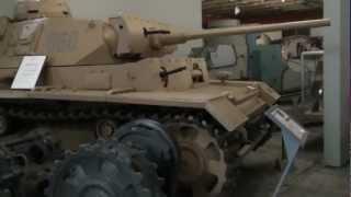 Путевые заметки,июнь 2012:Музей танков в Мюнстере 1/3(Если говорить точно - то