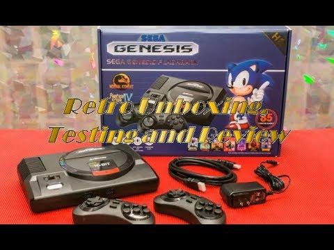 AtGames Sega Genesis Flashback: Retro Unboxing, Testing, and Review