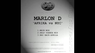 Marlon D - Afrika vs NYC (Main Mix)