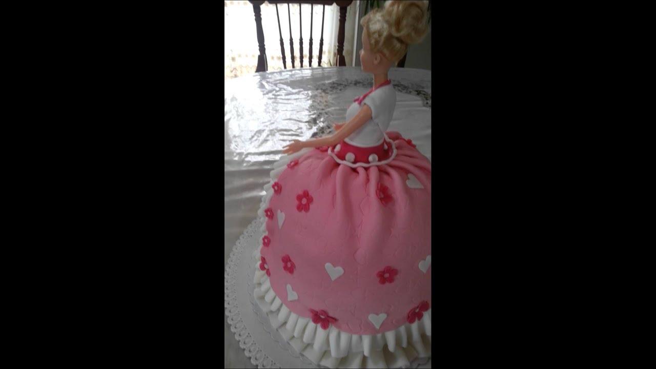 Barbie Torte Princess Cake Fondant Prinzessin Kuchen