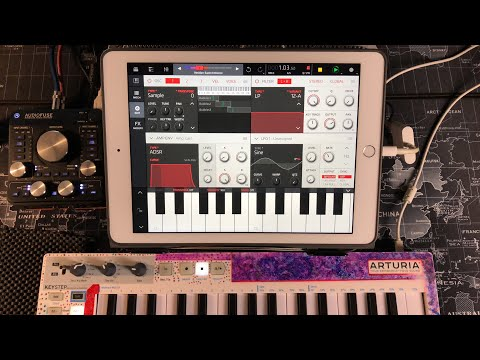 NANOSTUDIO 2 - Let's Explore Obsidian Synth Sounds - iPad Live