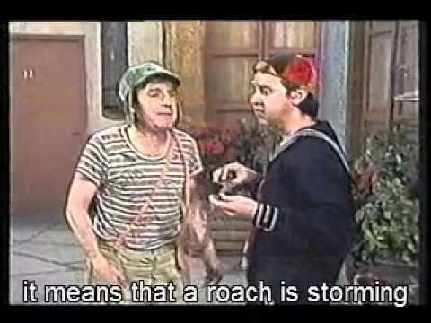 El Chavo Del 8 - Leaking Roof  (English Subtitles) 1/2 - Goteras En Casa De Doña Florinda