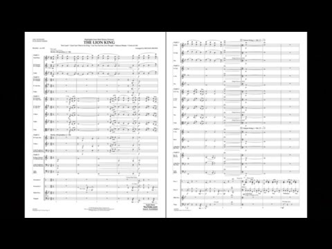 Highlights from The Lion King arranged by Michael Brown