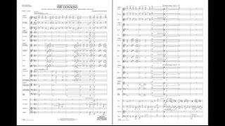 Gambar cover Highlights from The Lion King arranged by Michael Brown