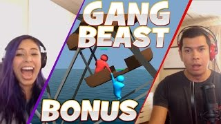 """WORST IDEA EVER"" Gang Beast - Bonus Rematch - Husband vs Wife"