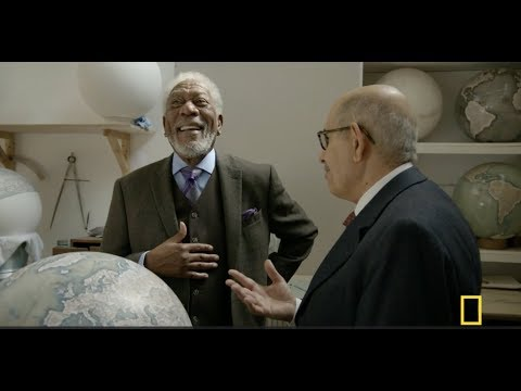 The Story of Us : S1 E2 : National Geographic with Morgan Freeman & Bellerby & Co Globemakers London