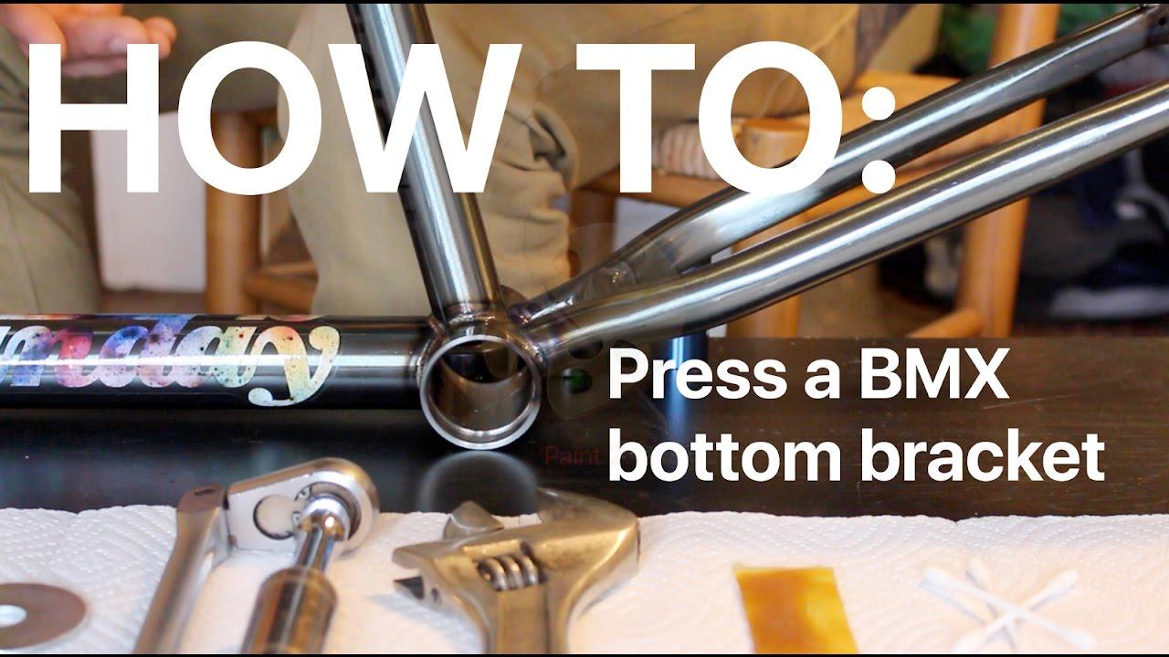 Bottom bracket for bmx